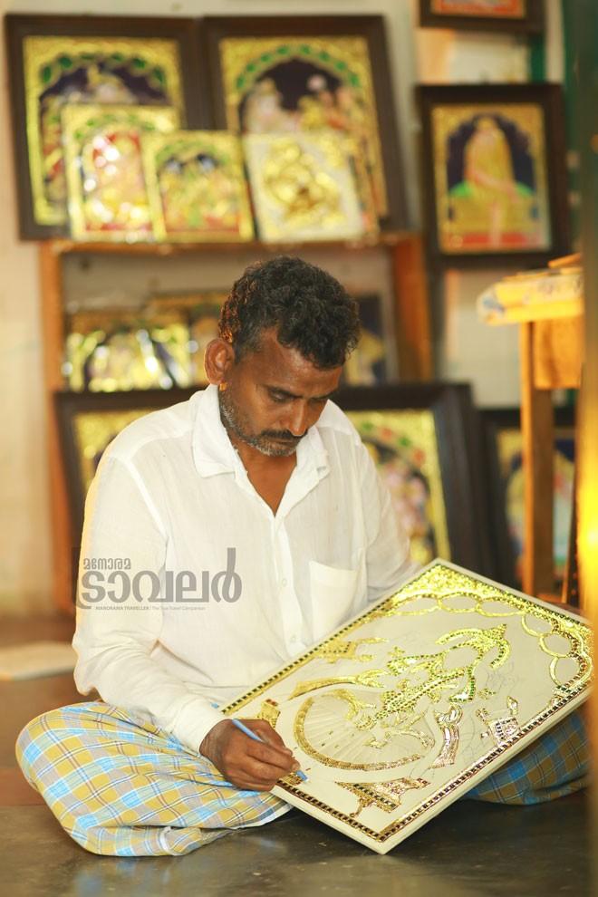 7)Thanjavur-painting