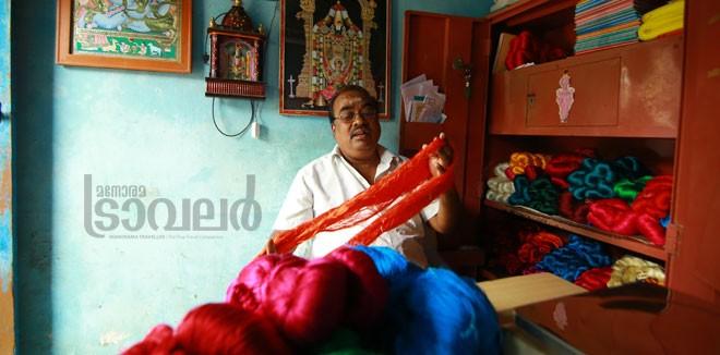 9)Thanjavur-silk