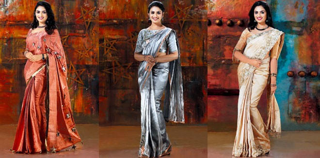 Metallic Saree