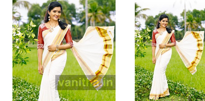 Women in Kerala Saree
