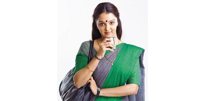 Manju Warrier in Saree