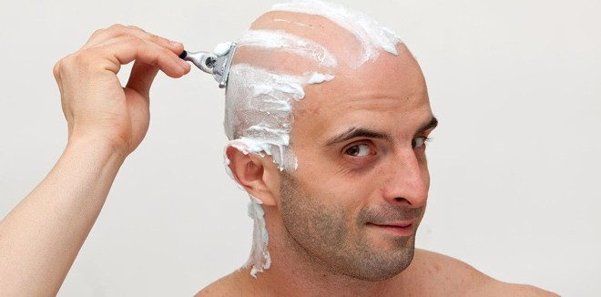 head-shave