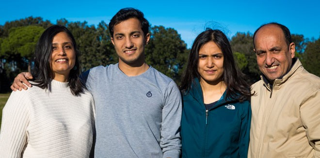 Dhanya-and-family