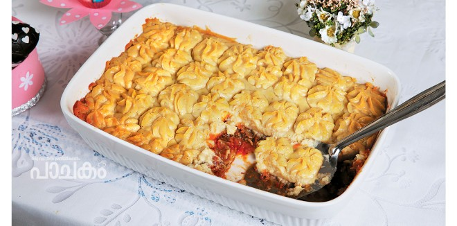 Mashroom Sheperds pie