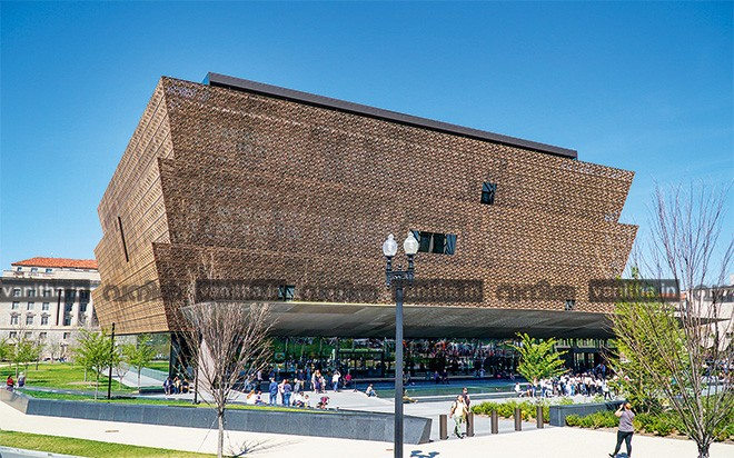 National Museum of African American History and Culture - WASHINGTON, DISTRICT OF COLUMBIA - APRIL 8, 2017
