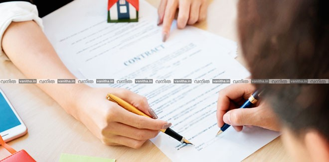 stock-photo-cropped-image-of-real-estate-agent-assisting-client-to-sign-contract-paper-at-desk-with-house-model-1006773244